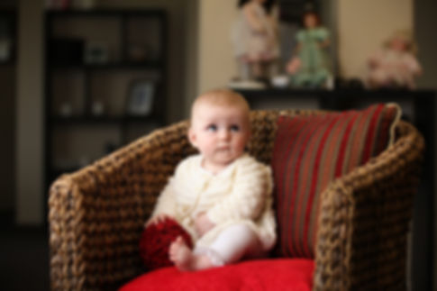 Beautiful baby hand-knitted jacket in top quality Merino wool
