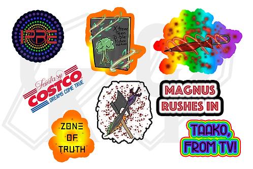 The Adventure Zone: Balance Stickers