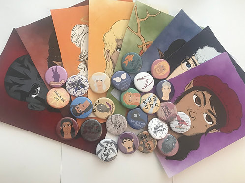 Vox Machina Merch Bags
