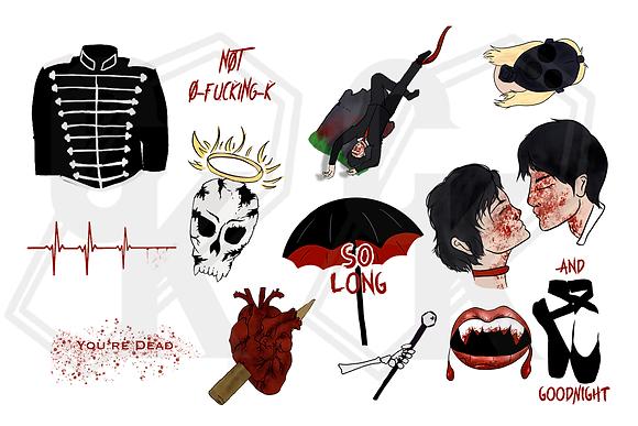 My Chemical Romance Sticker Set