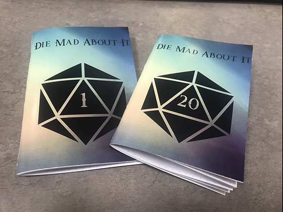 Die Made About It | Field Note books