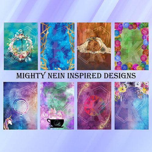 Mighty Nein - Paper Bundle