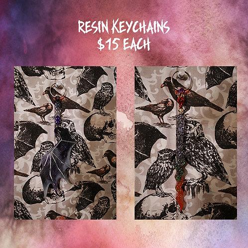 Flash Sale - Large Resin Keychains