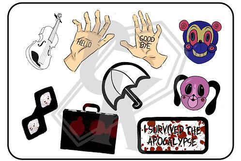 Umbrella Academy Season 1 Stickers