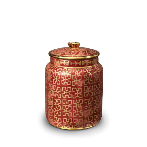 Fortuny Ashanti Canister - Small by L'Objet