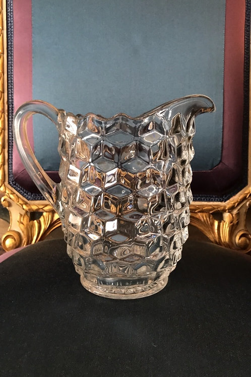 Pressed Glass American Water Pitcher