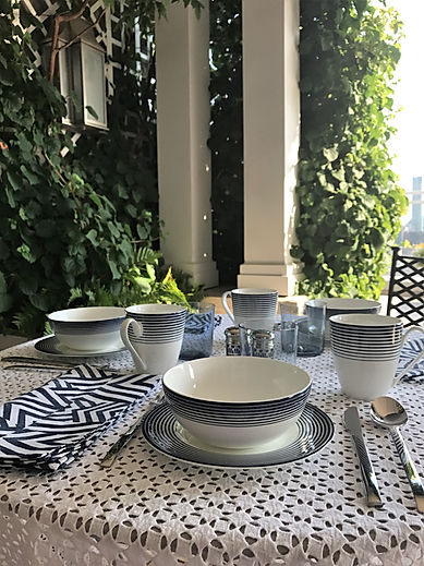 Al Fresco Dining - Everyday Elegance