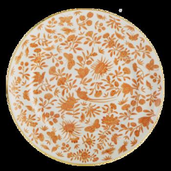 Mottahedeh Sacred Bird & Butterfly Dinner Plate