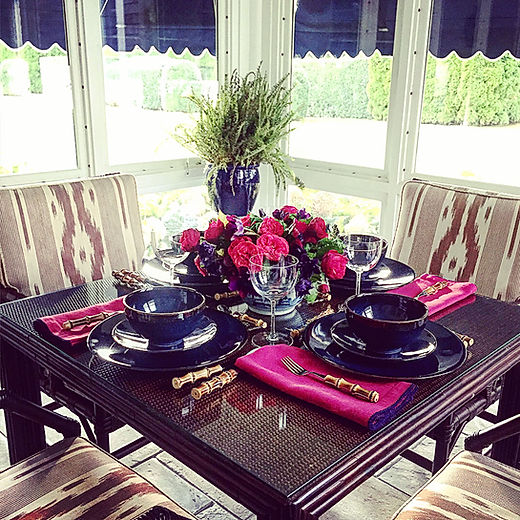 Lunch In The Sunroom- Everyday Elegance
