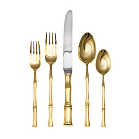 Ricci Argentieri Bamboo-20 Piece Place Setting