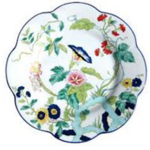 Paradis Dessert Plate by Royal-Limoges