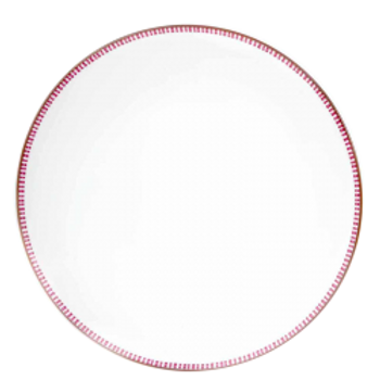 Chandigahr Fuschia Dinner Plate