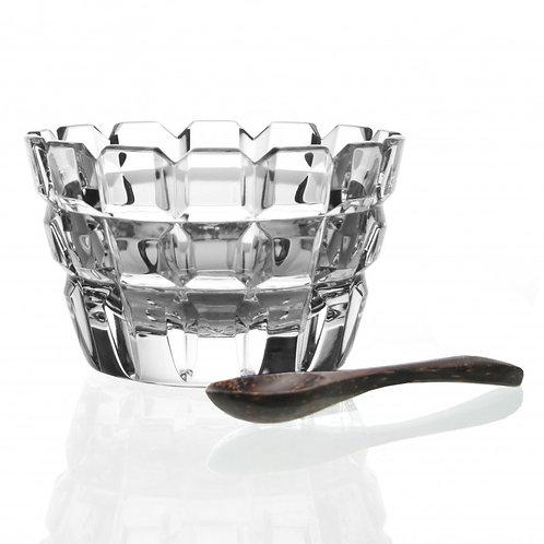 Blodwyn Salt Dish with Spoon from William Yeoward