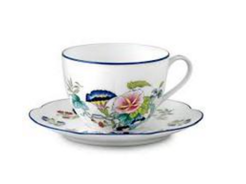 Paradis Tea Cup and Saucer by Royal-Limoges