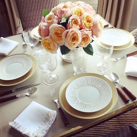 Lunch In The Living Room- Everyday Elegance