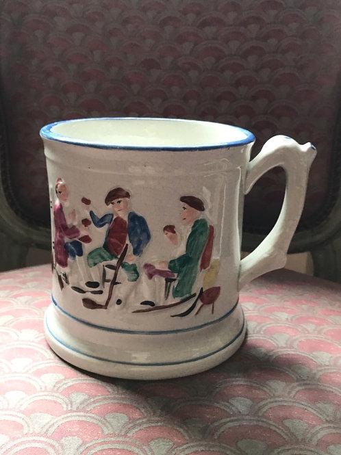 English Ceramic Puzzle Mug