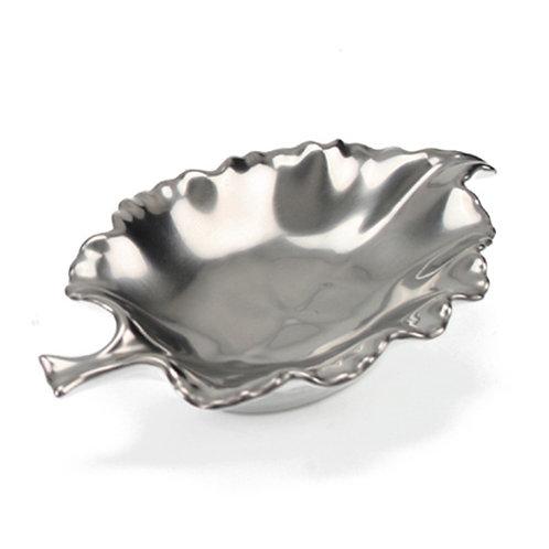 Carine Platinum Leaf Dish
