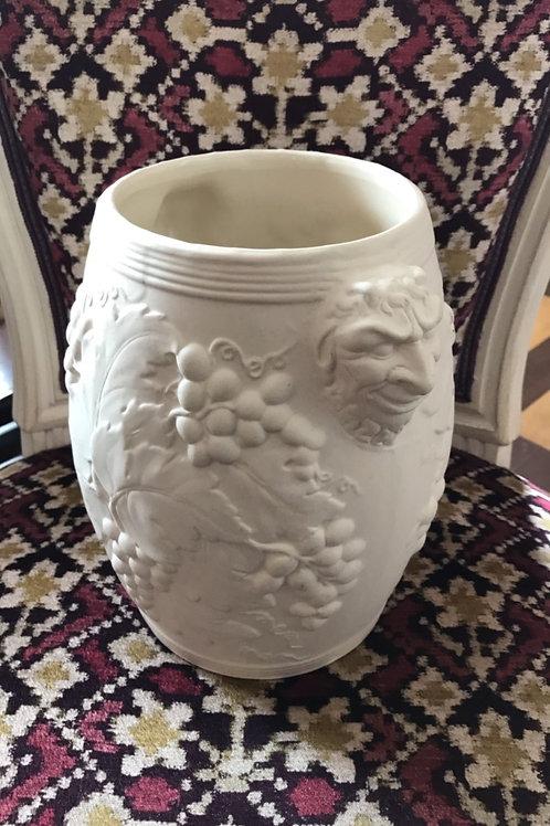 Earthenware Wine Cooler or Flower Vase