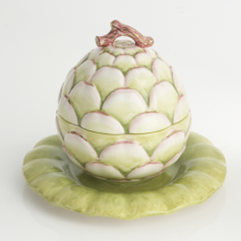 Artichoke Tureen and Stand