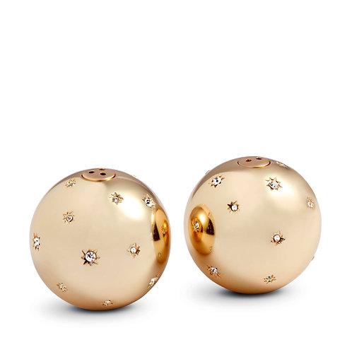 L'Objet Stars Spice Jewels Salt and Pepper Set in Gold