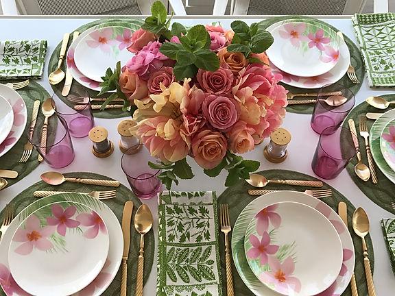 In Full Bloom Dinnerware- Everyday Elegance