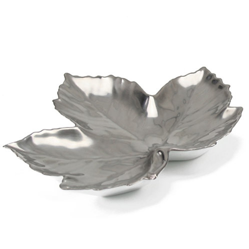 Maple Platinum Leaf Dish