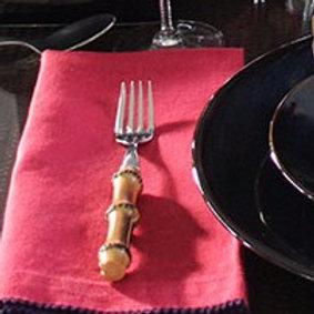 Picot Dinner Napkins by Leontine Linens
