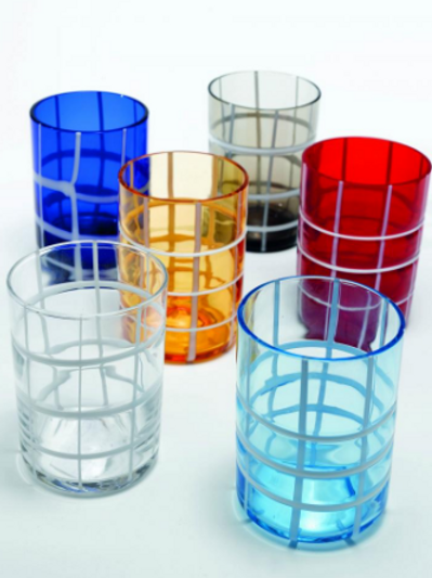 Twiddle Tumblers - Set of 6 Assorted Colors