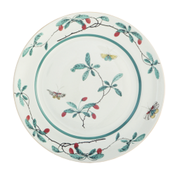 Famille Verte Dessert Plate