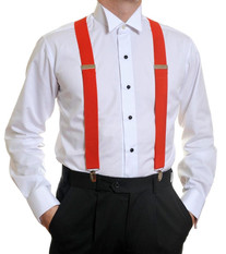 Louis Cheval Braces Red