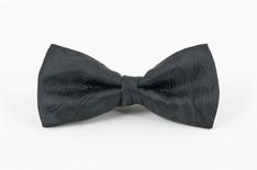 Black Paisley Bow Tie