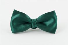 Satin Bow Tie Green
