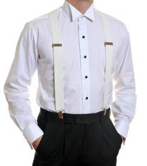 Louis Cheval Braces White