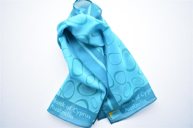 Bank of Cyprus Custom Scarf