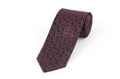 Burgundy Swirl Tie