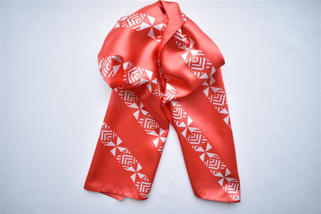 Tonga Development Bank Custom Scarf