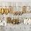 Thumbnail: Boho Macrame Earrings  (white)