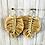 Thumbnail: Boho Macrame earrings  (gold)