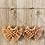 Thumbnail: Boho Macrame Earings (blush coral)
