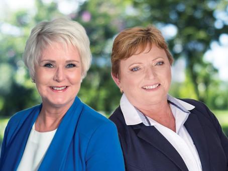 @realty welcomes back Gwen Toholka and Gail Bernardin