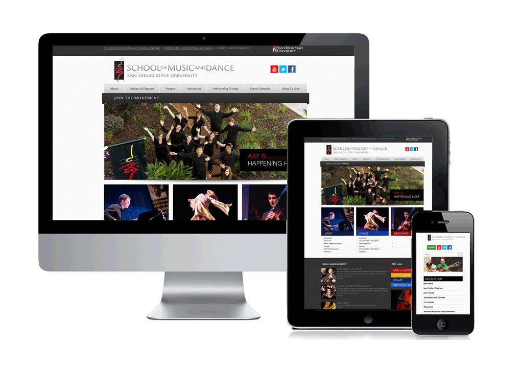 SDSU Music Web