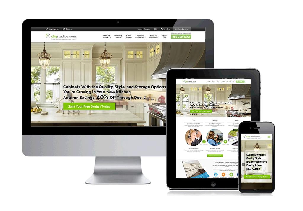 Cliq Studios Web Design