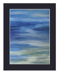 Abstract Waterscape Print