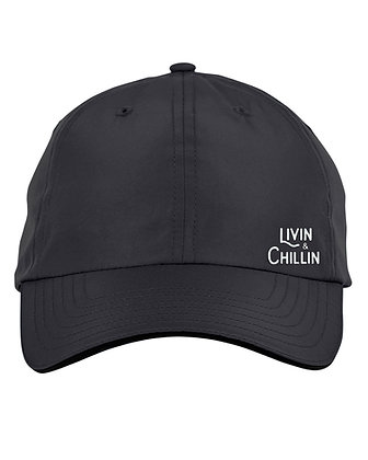 Livin and Chillin Hat-Black