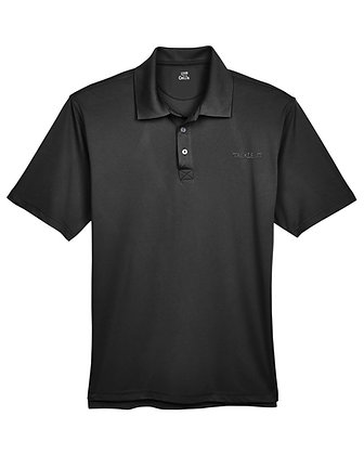 Tackle It Livin and Chillin Mens Moisture Wicking Polo Shirt