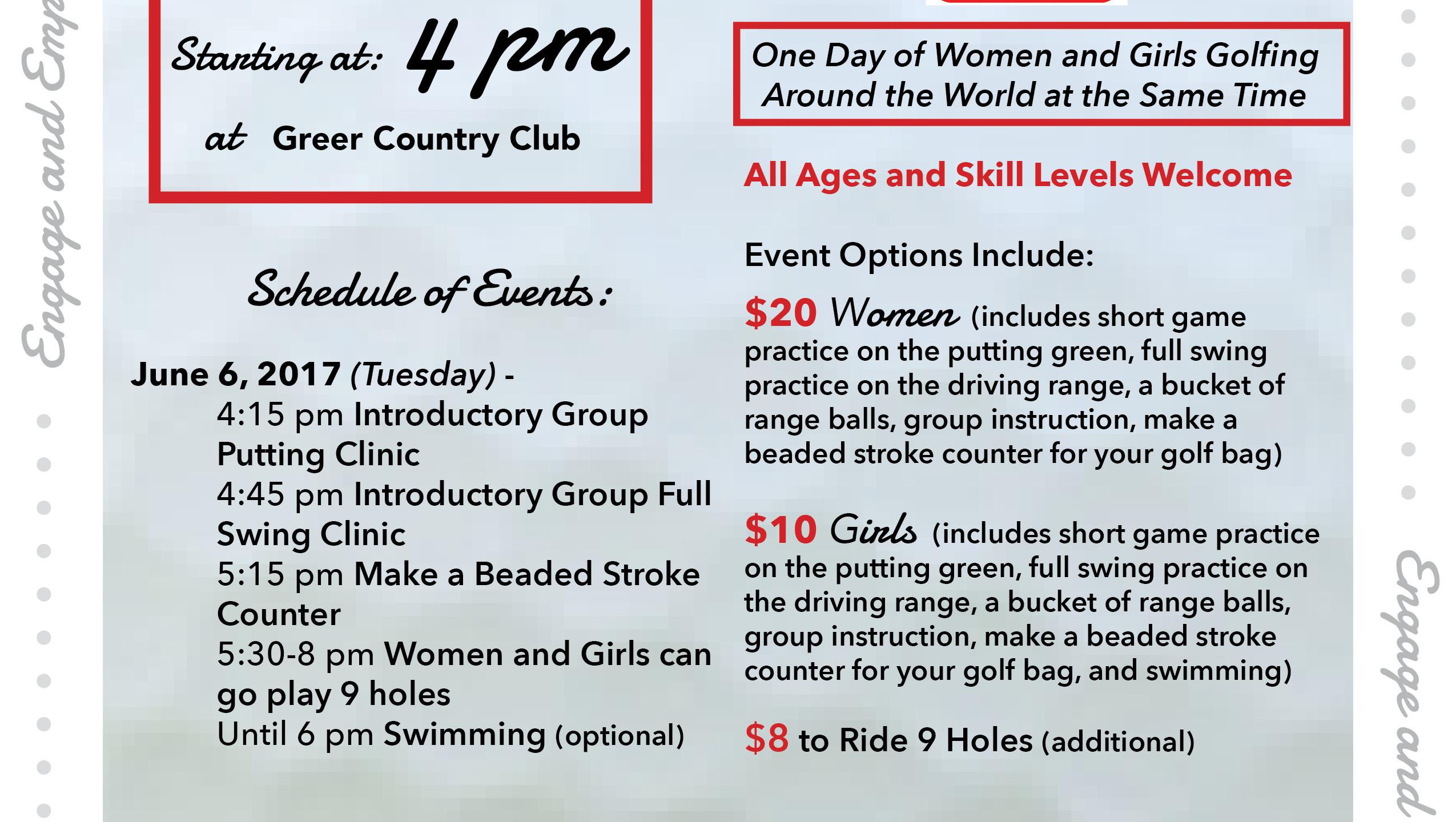 womens-girls golf day-2017