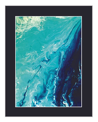 Abstract Wakezone Blue Print