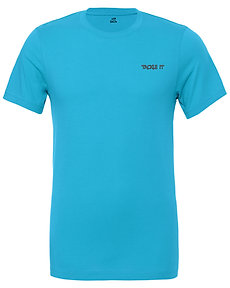 Livin and Chillin Tackle It Mens Moisture Wicking Shirt