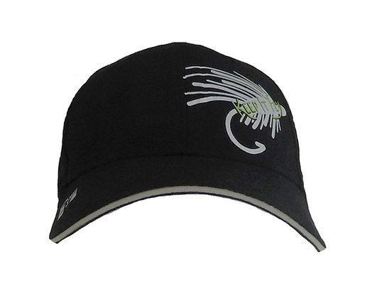 Livin and Chillin Keep it Fly Glow-in-the-Dark Hat-Black