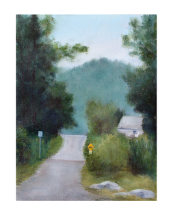 Country Road Plein Air